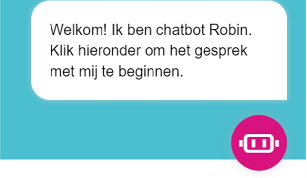 Chatbot van MGn is online